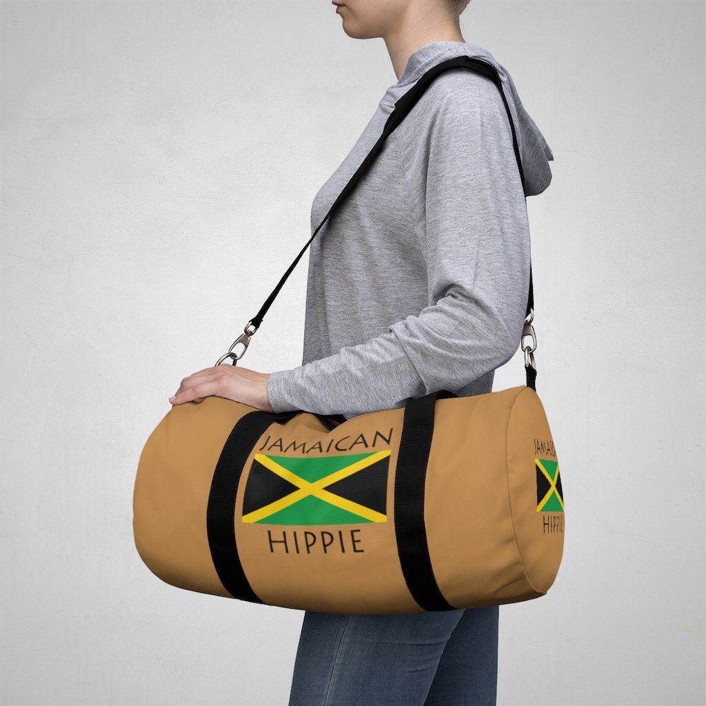 Jamaican Flag Hippie™ Carry Everything Duffel Bag