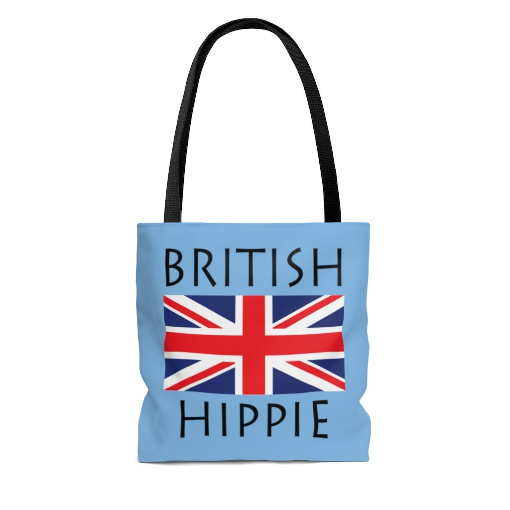 British Hippie Tote Bag