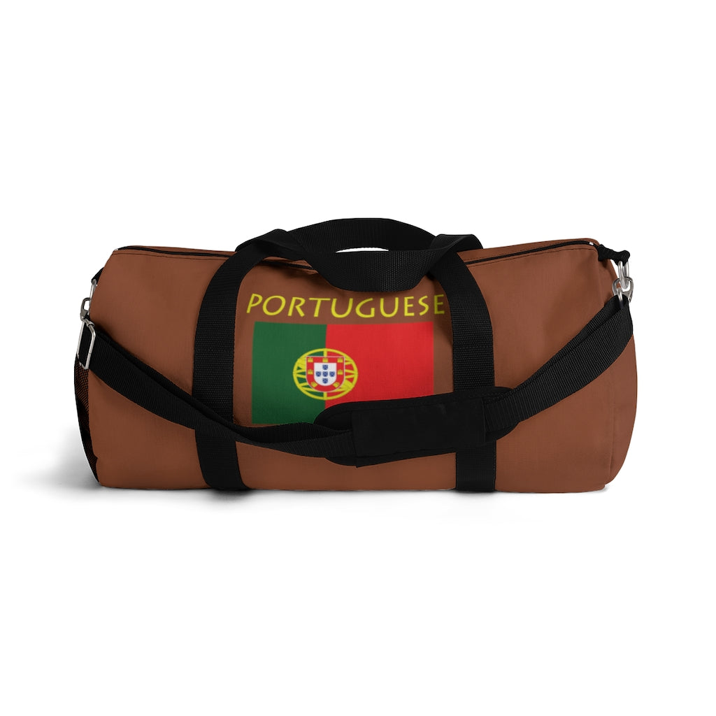 Portuguese Flag Hippie™ Carry Everything Duffel Bag