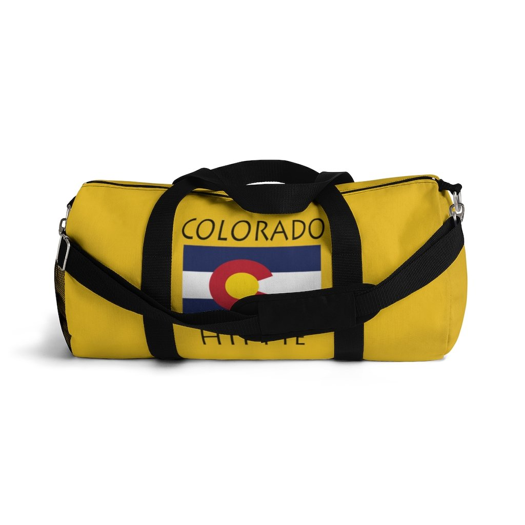 Colorado Flag Hippie™ Carry Everything Duffel Bag