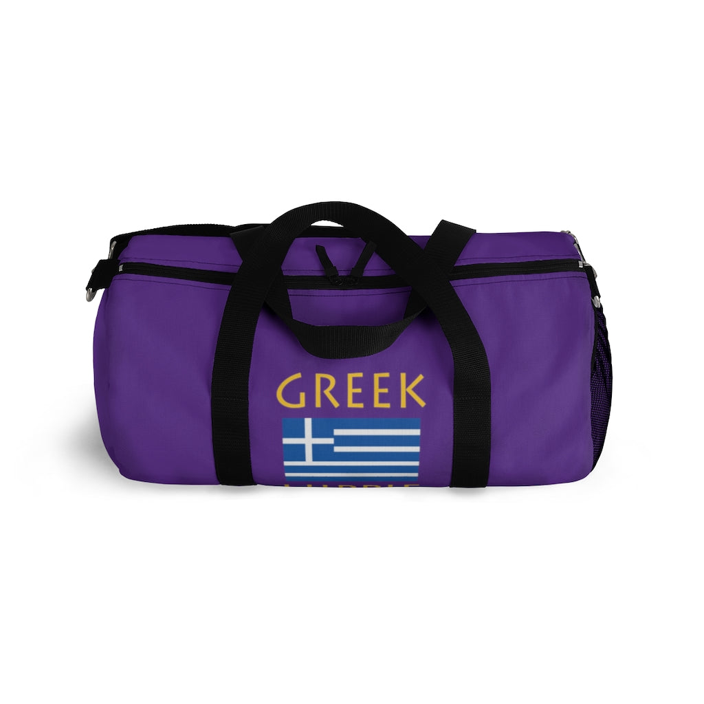 Greek Flag Hippie™ Carry Everyting Duffel Bag
