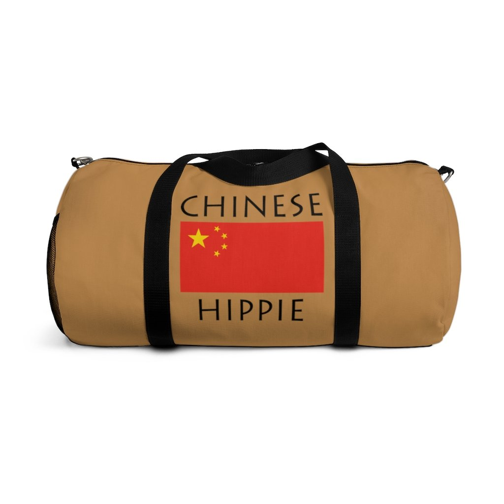 Chinese Flag Hippie™ Carry Everything Duffel Bag
