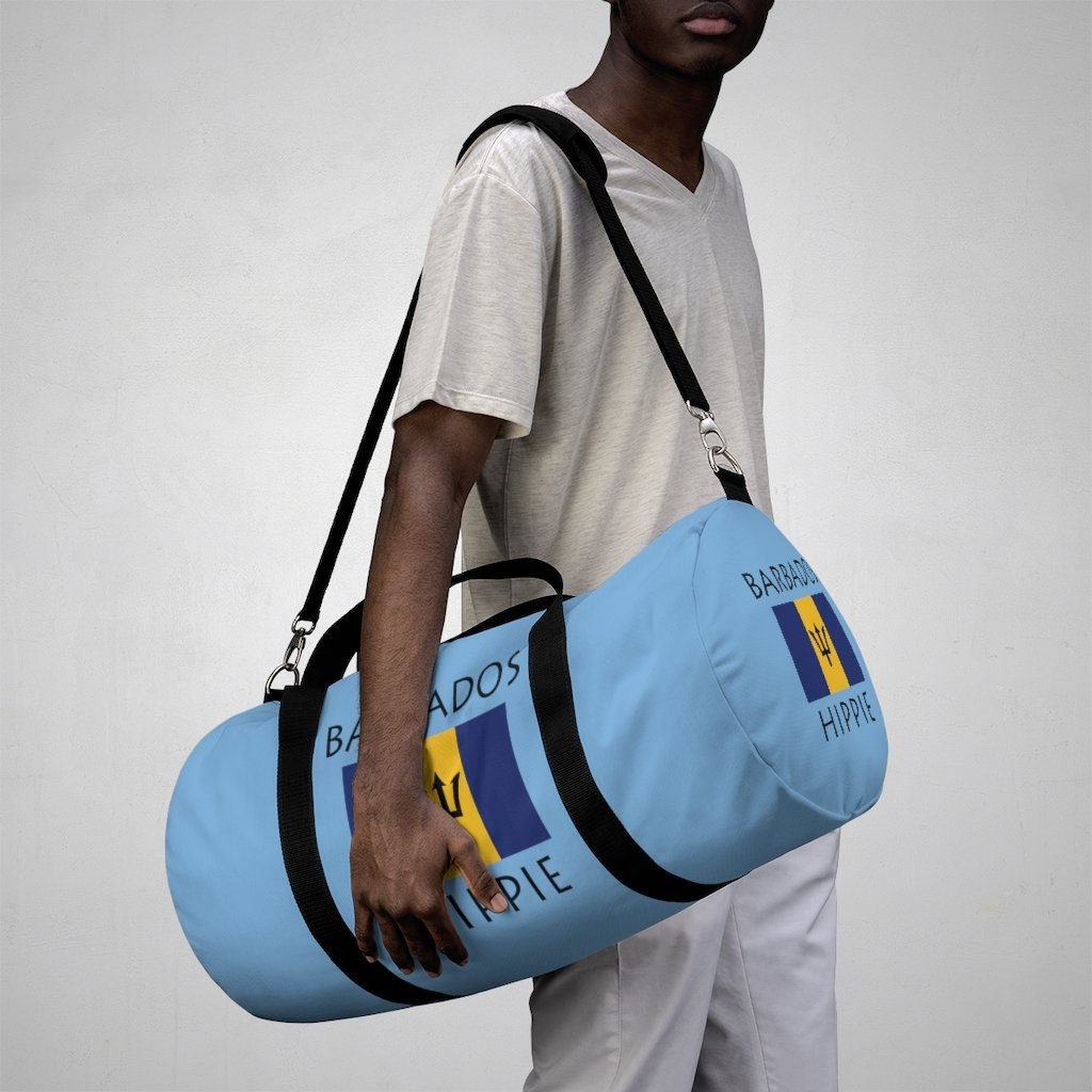 Barbados Flag Hippie™ Carry Everything Duffel Bag