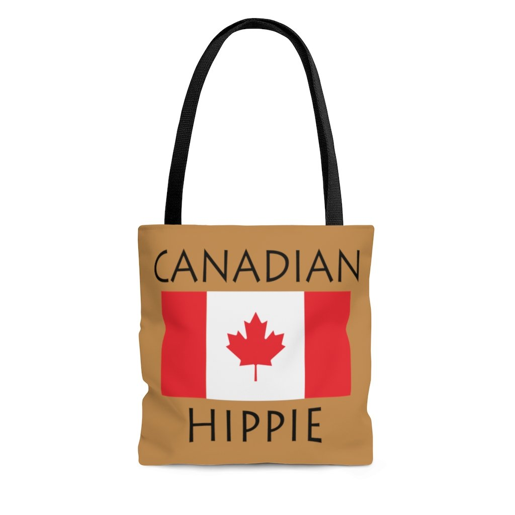 Canadian Hippie Tote Bag