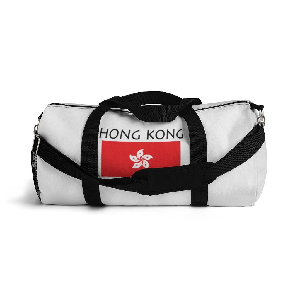 Hong Kong Flag Hippie™ Carry Everything Duffel Bag