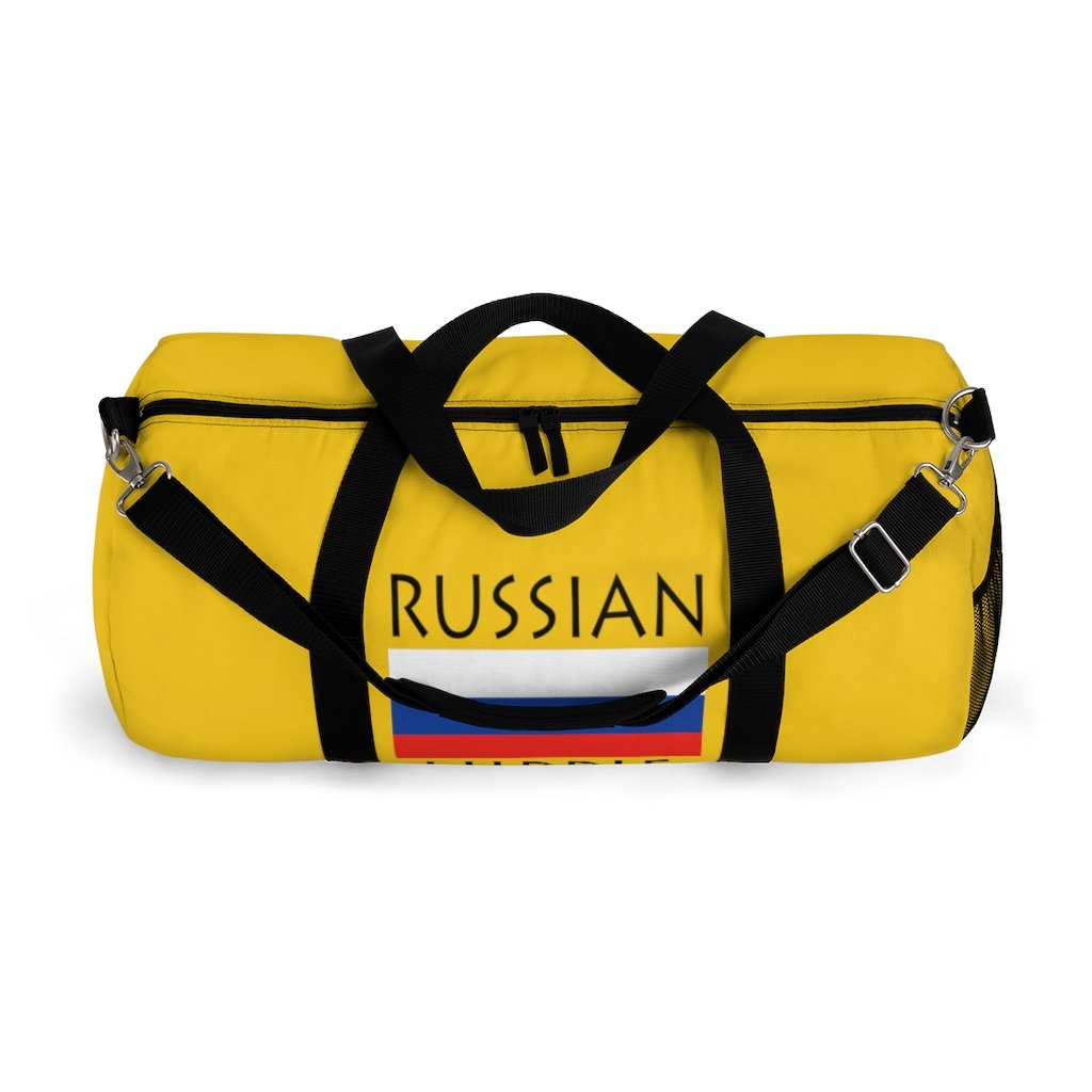 Russian Hippie Duffel Bag
