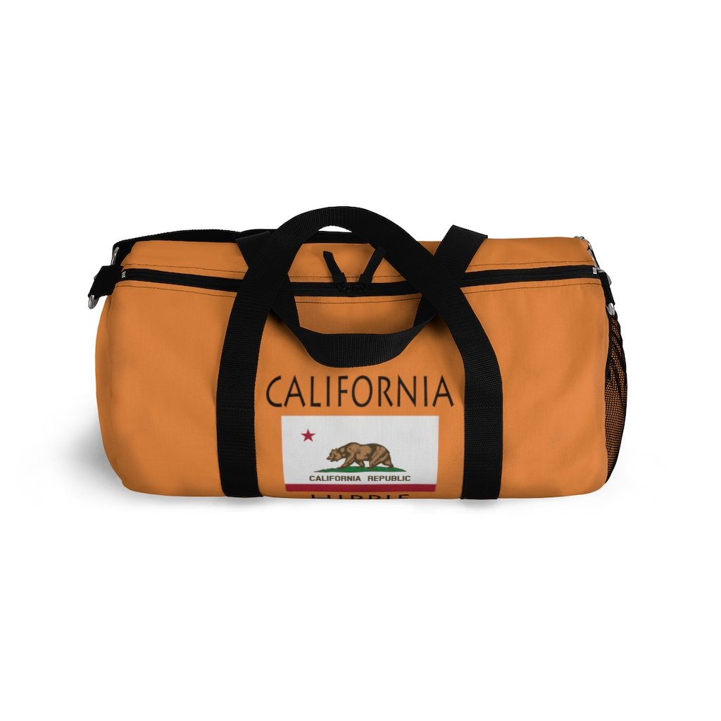 California Flag Hippie™ Carry Everything Duffel Bag