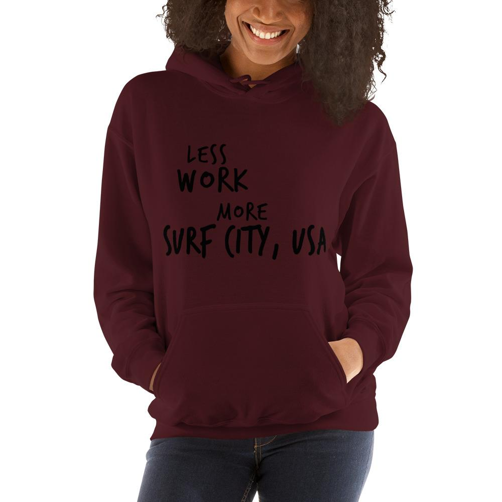 LESS WORK MORE SURF CITY™ Unisex Hoodie