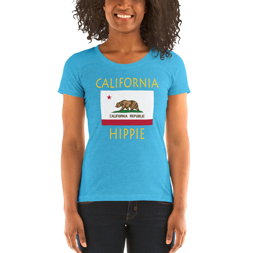 California Hippie™ Women's Tri-blend t-shirt