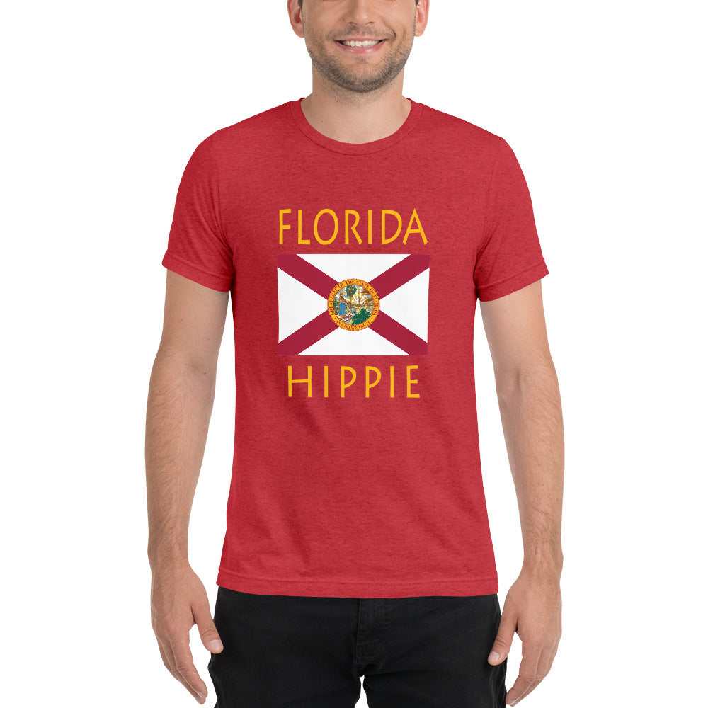 Florida Hippie™ Men's Tri-blend t-shirt