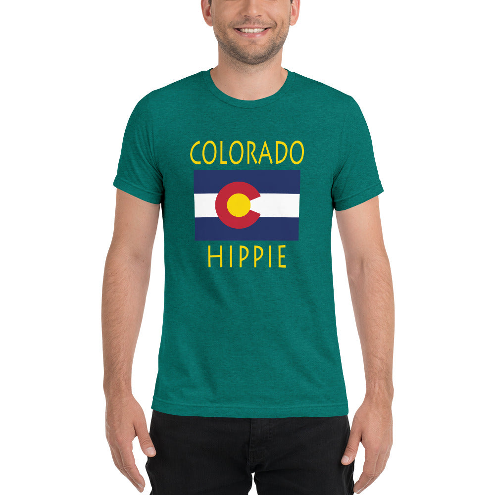 Colorado Hippie™ Men's Tri-blend t-shirt
