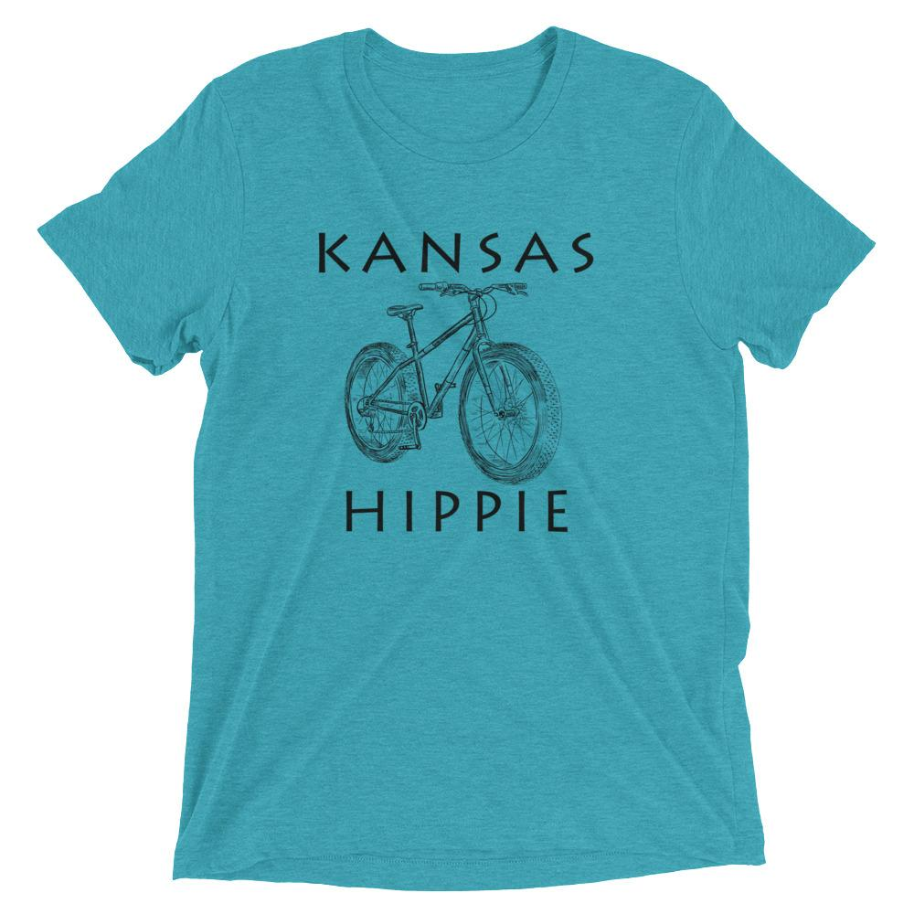 Kansas Bike Hippie™ Unisex Tri-blend T-Shirt