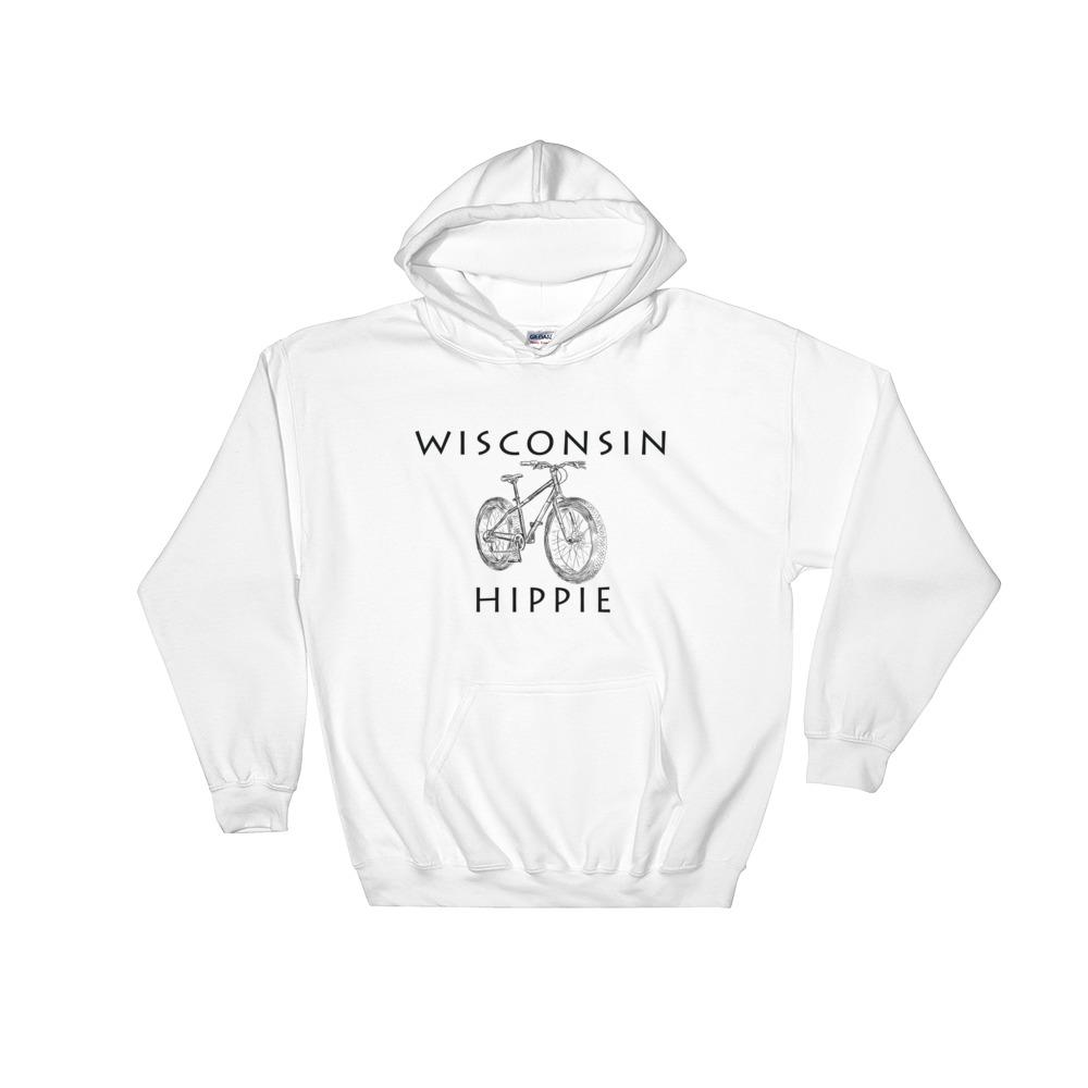 Wisconsin Bike Men's Hippie Hoodie
