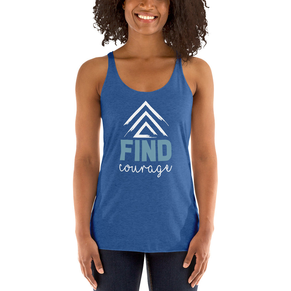 FIND Courage™ Inspirational Racerback Tank