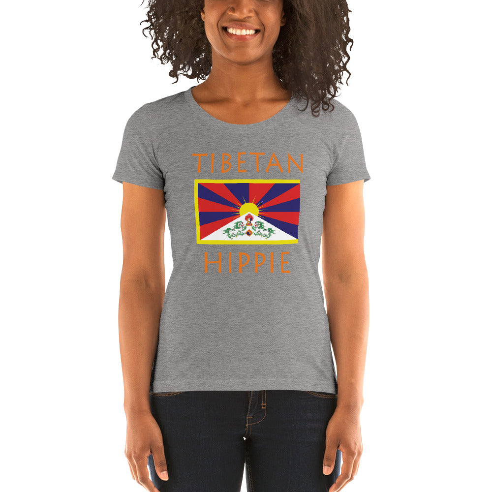 Tibentan Hippie™ Women's Tri-blend t-shirt