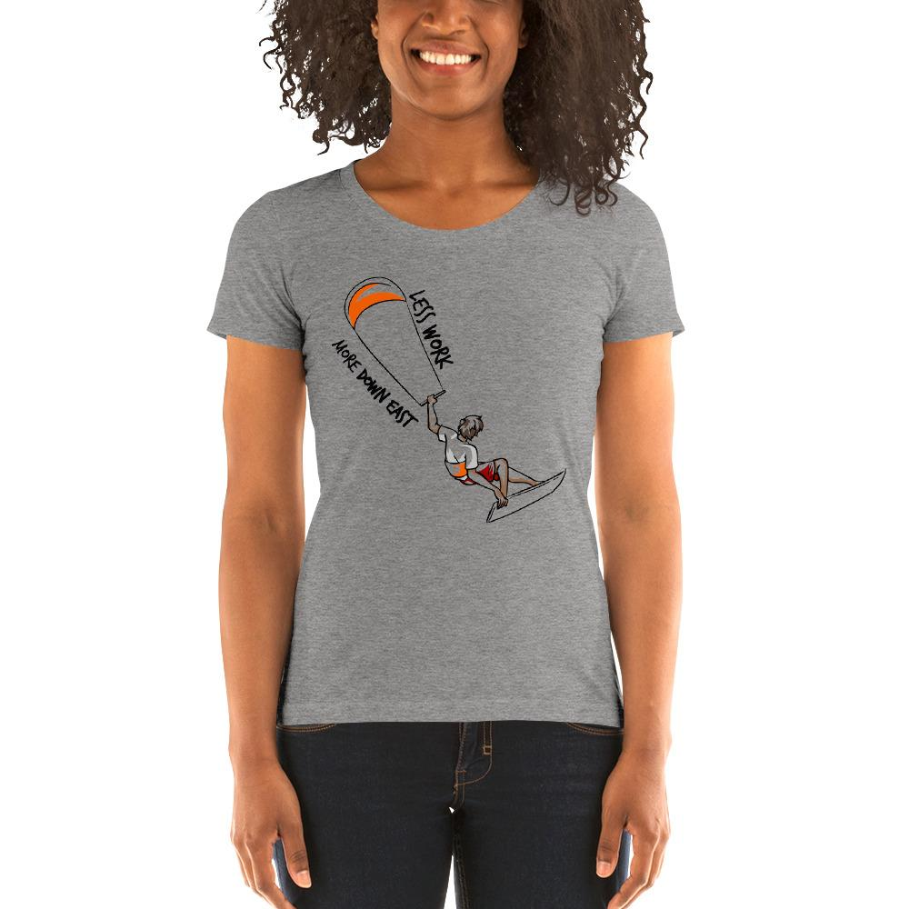 LESS WORK MORE DOWN EAST™ Women's Tri-blend