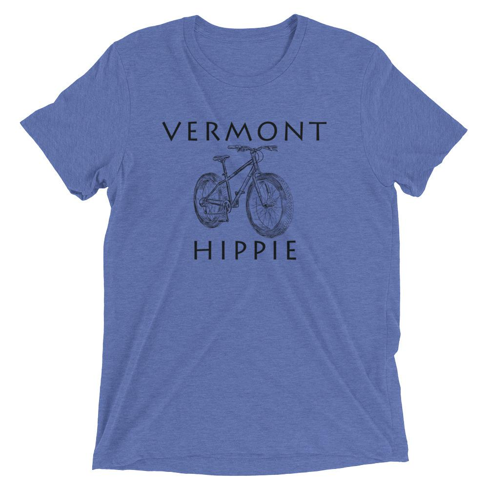 Vermont Bike Hippie Unisex Tri-blend T-Shirt