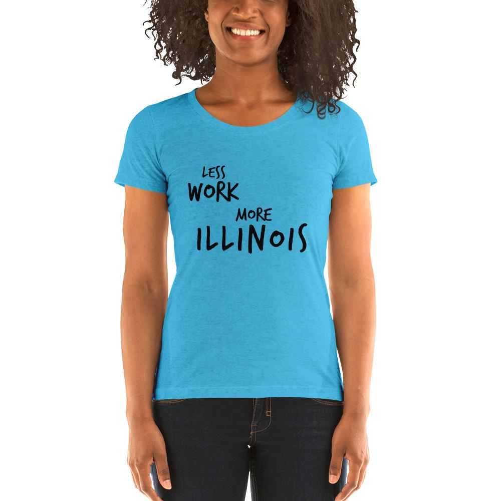 LESS WORK MORE ILLINOIS™ Women's Tri-blend