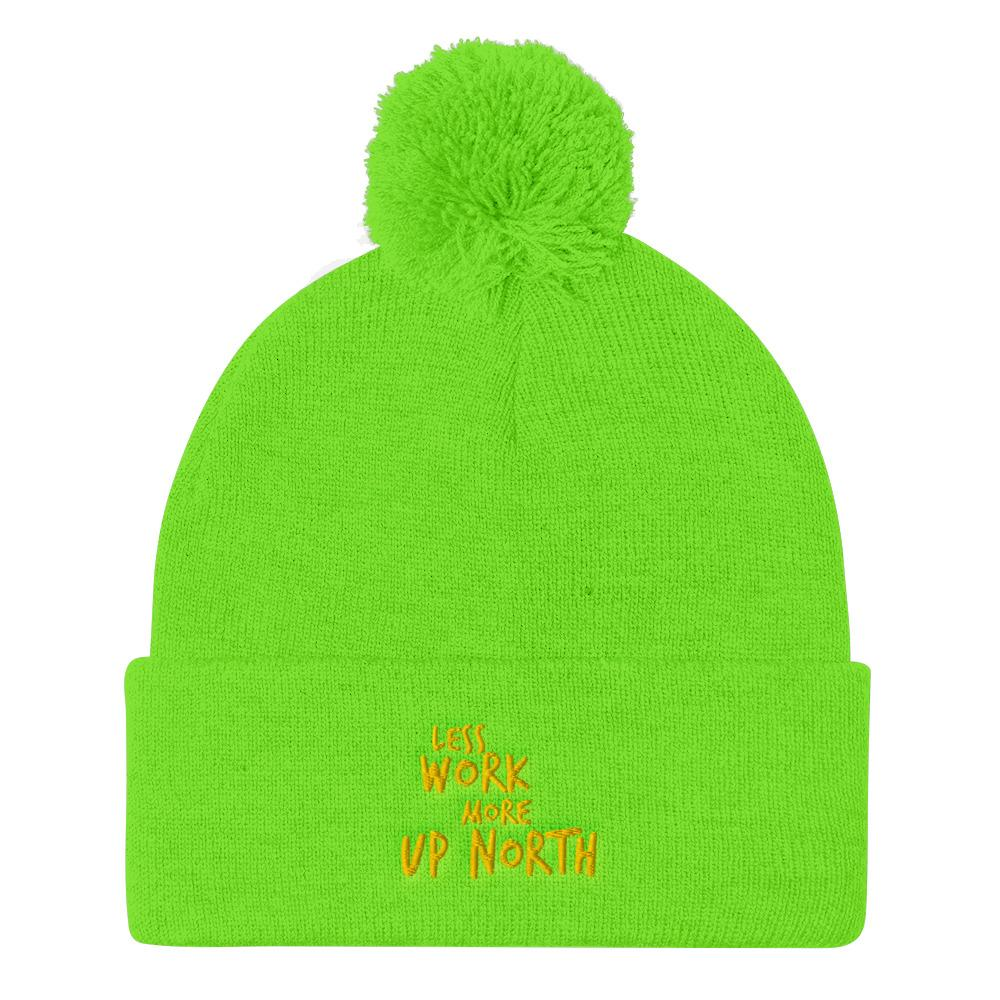 LESS WORK MORE UP NORTH™ Knit Hat