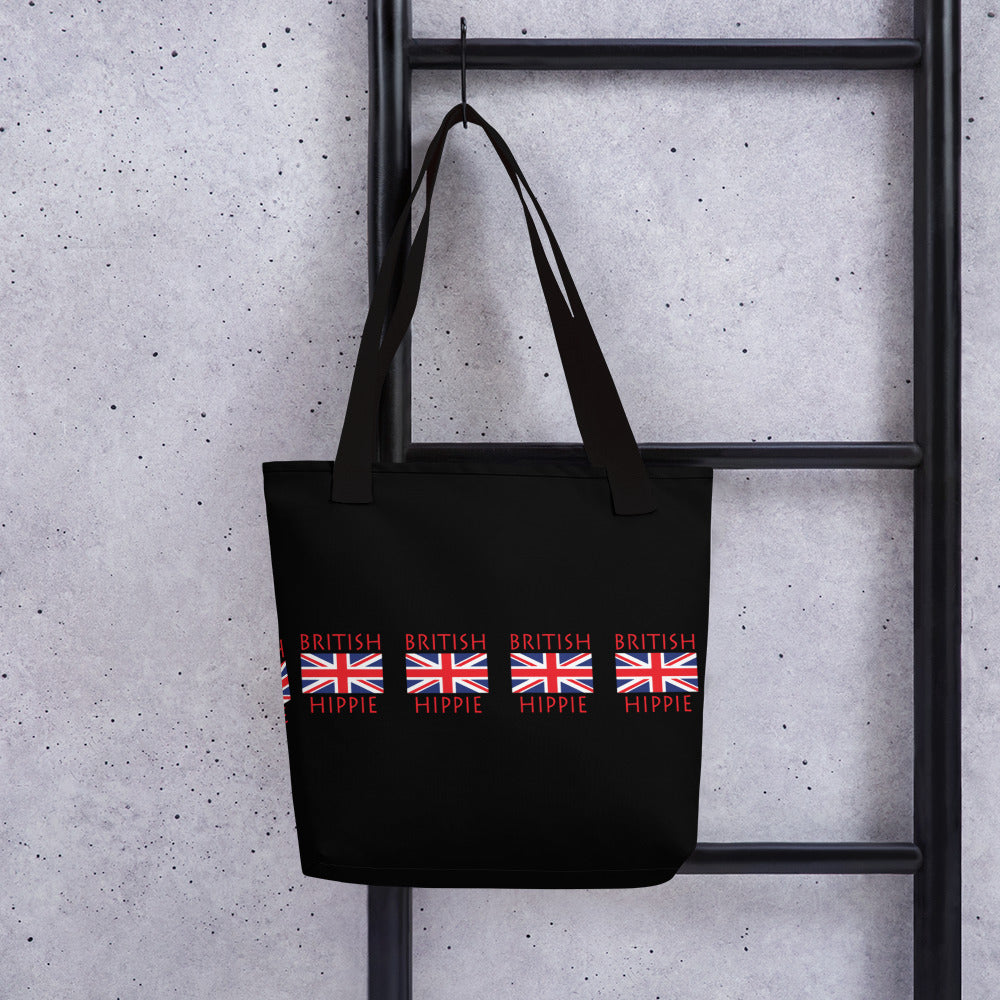 British Flag Hippie™ Carry Everything Tote bag