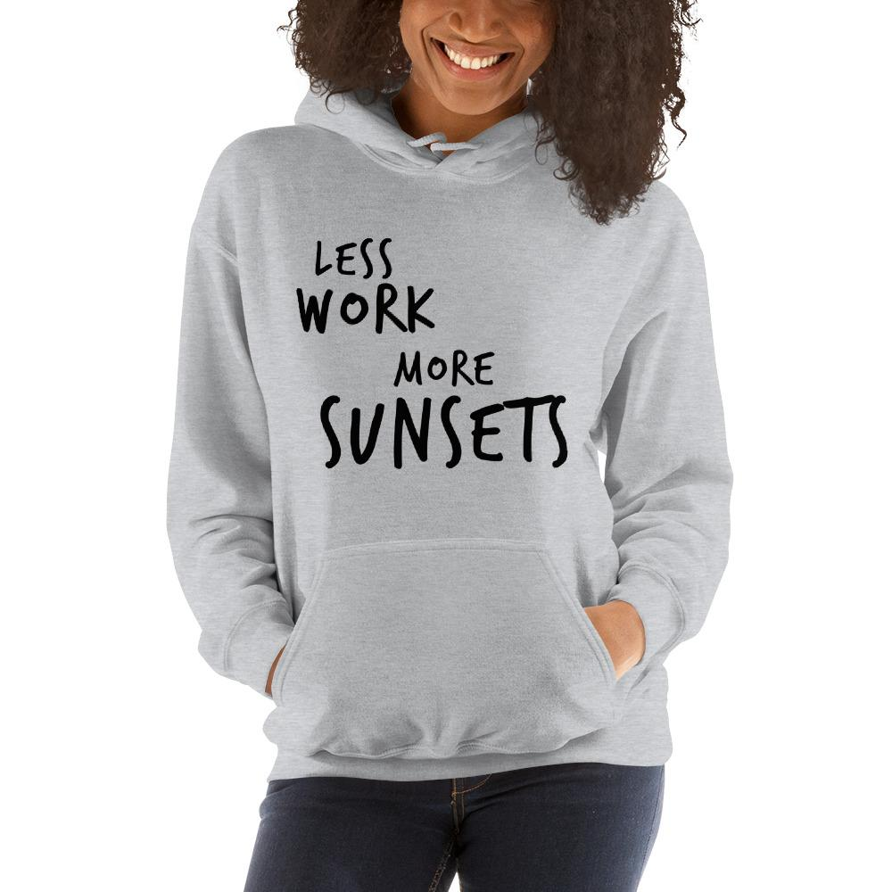 LESS WORK MORE SUNSETS™ Unisex Hoodie