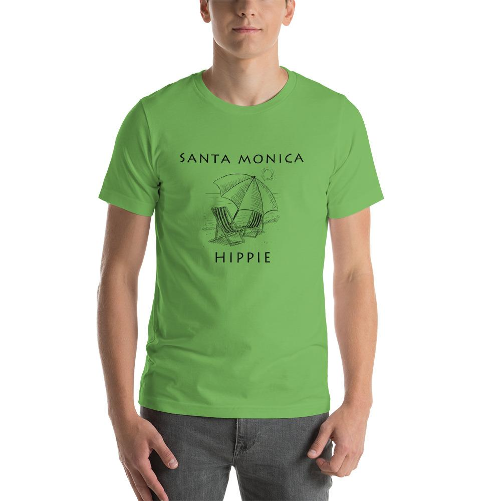 Santa Monica Beach Unisex Hippie T-Shirt