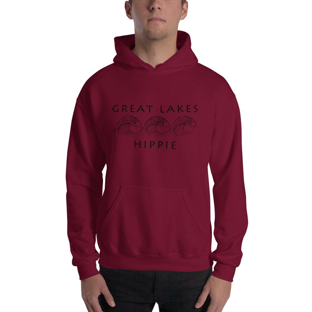 Great Lakes Lake Hippie™ Men's Hoodie