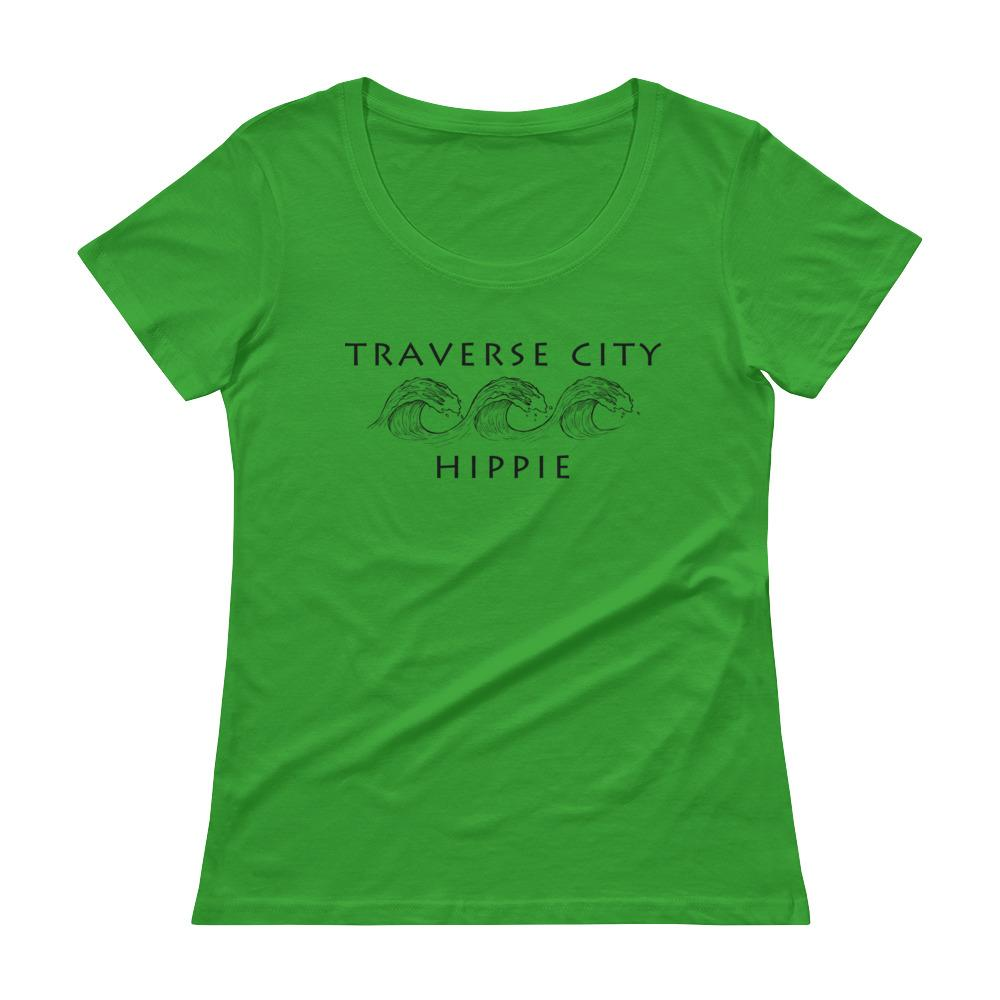 Traverse City Lake Hippie™ Women's Scoopneck T-Shirt