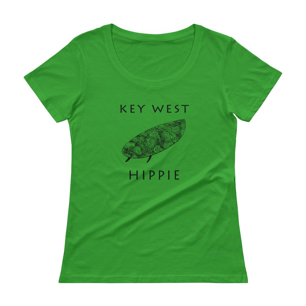 Key West Surf Hippie Women's Scoopneck T-Shirt