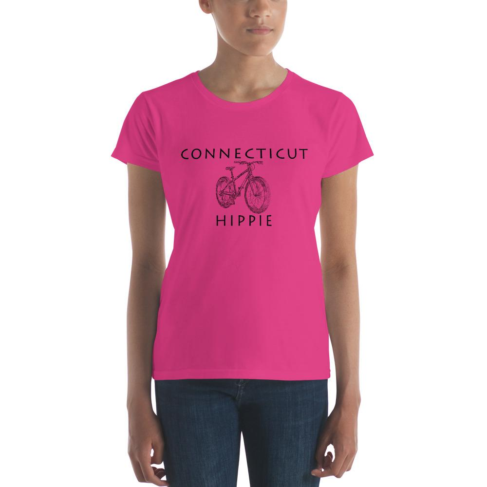 Connecticut Bike Hippie™ Women's Fashion Fit T-Shirt