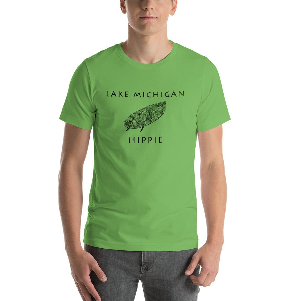 Lake Michigan Surf Hippie™ Unisex Jersey T-Shirt