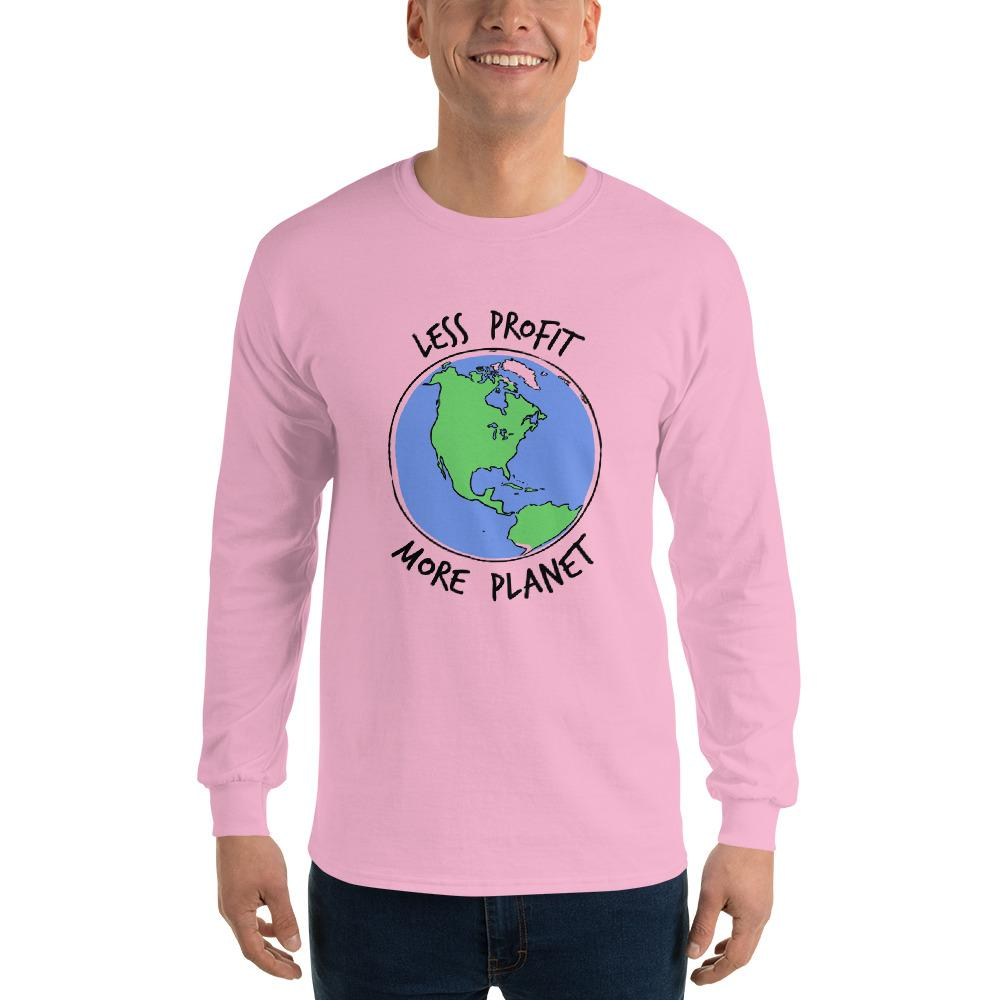 Less Profit More Planet Men's Long Sleeve