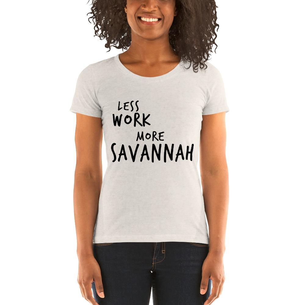 LESS WORK MORE SAVANNAH™ Women's Tri-blend