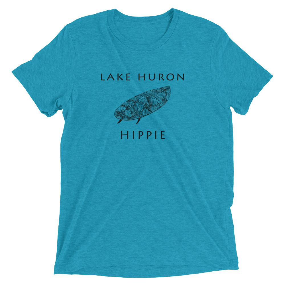 Lake Huron Surf Hippie™ Unisex Tri-blend T-Shirt
