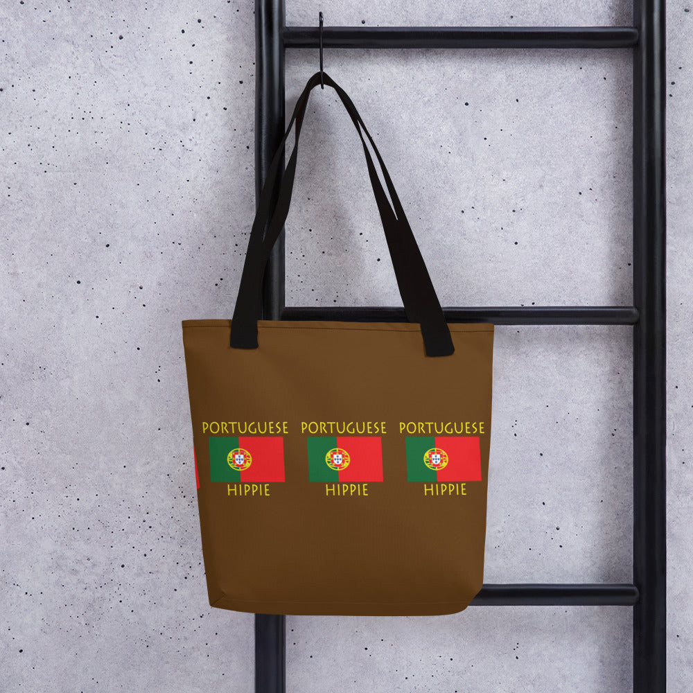 Portuguese Flag Hippie™ Carry Everything Tote bag