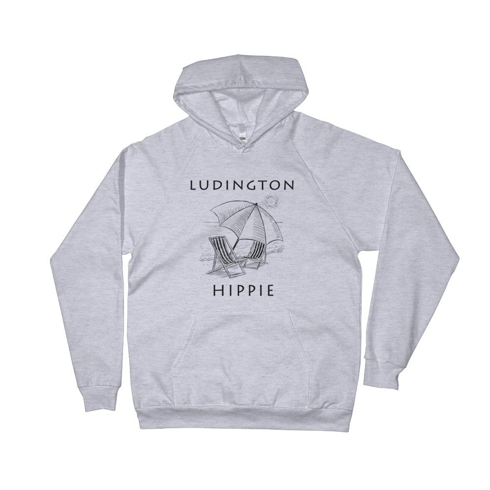 Ludington Beach Hippie™ Unisex Fleece Hoodie