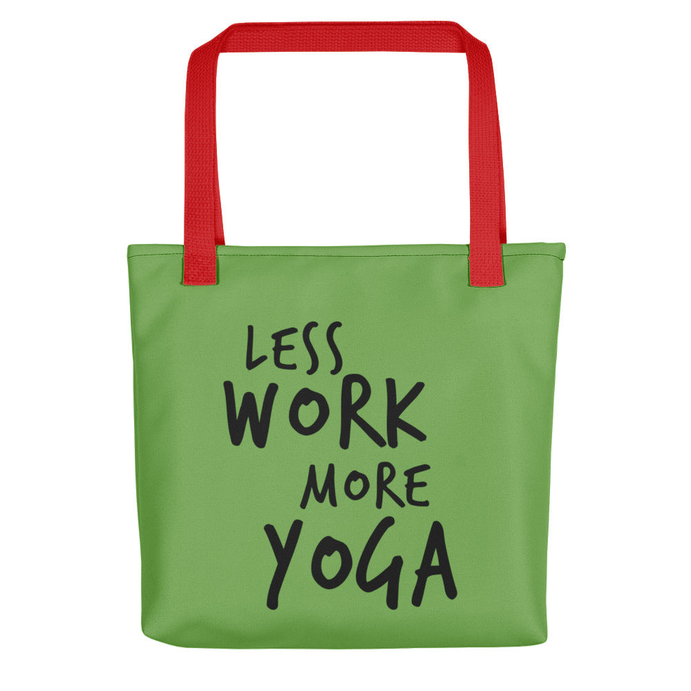 Less Work More Yoga™ Carry Everything Tote bag