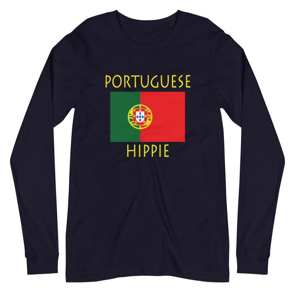 Portuguese Flag Hippie™ Unisex Long Sleeve Tee