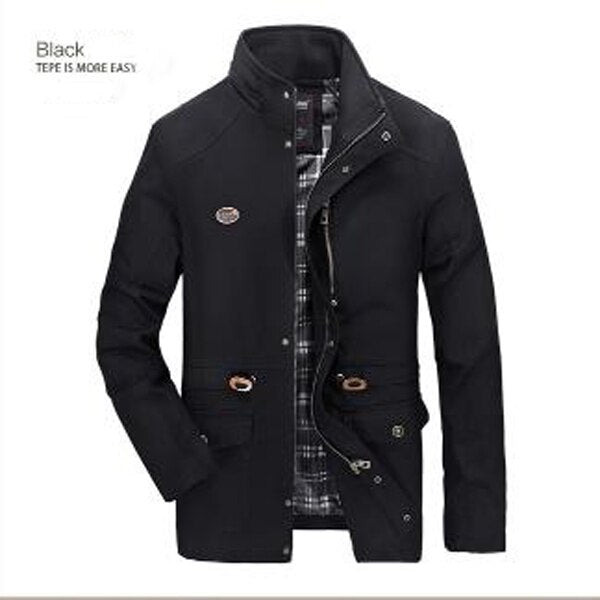 Autumn winter men's washed coat men fashion casual jacket