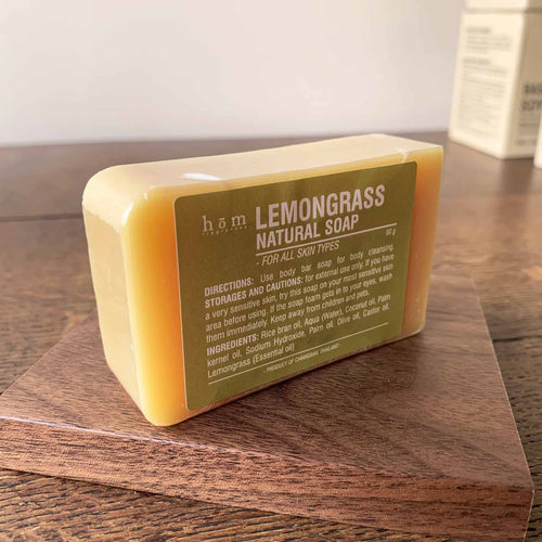Natural Soap - Lemongrass-Hom fragrances-Comfily Living