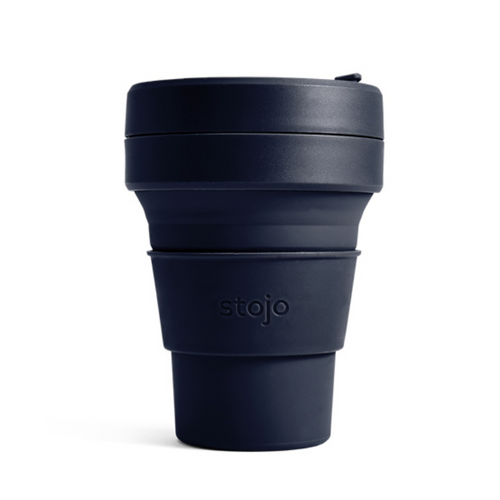 Stojo Silicon Collapsible 12oz Cup - POCKET CUP
