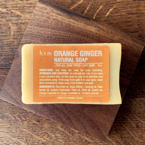 Natural Soap - Orange Ginger-Hom fragrances-Comfily Living