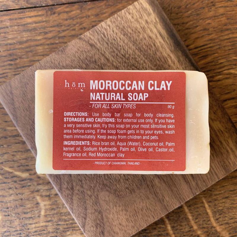 Natural Soap - Moroccan Clay-Hom fragrances-Comfily Living
