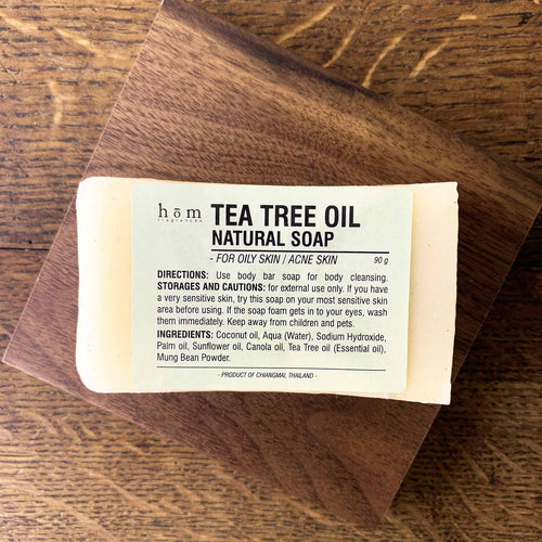 Natural Soap - Tea Tree Oil-Hom fragrances-Comfily Living