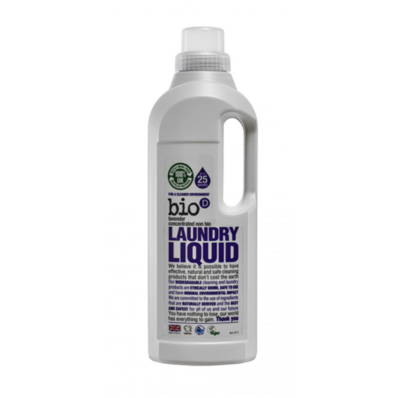 BIO-D Concentrated Laundry Liquid (Lavender) 1L