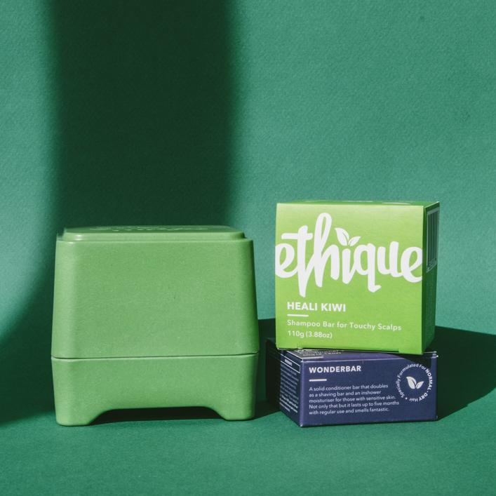 Ethique Shampoo Bar - Heali Kiwi (for Dandruff or Scalp Problems) 110g or 15g