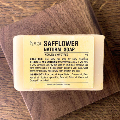 Natural Soap - Safflower & Orange-Hom fragrances-Comfily Living
