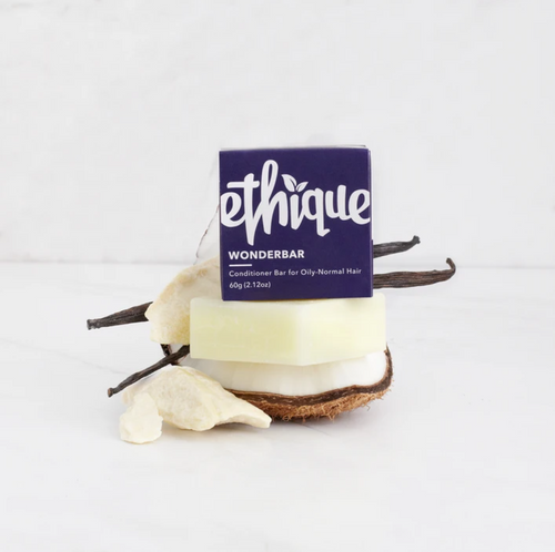 Ethique Conditioner Bar Mini - Wonderbar (for Oily/ Normal Hair) - Comfily Living