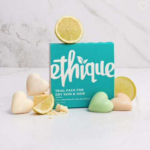 Ethique Trial Pack (for Dry skin & hair)