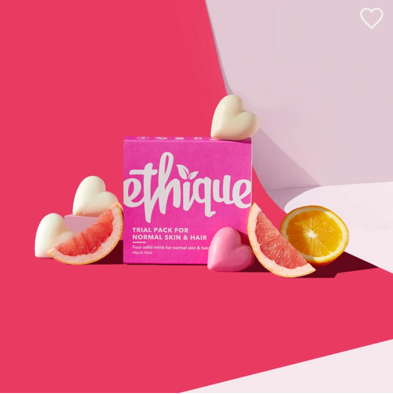 Ethique Trial Pack (for Normal Skin & Hair)